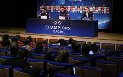 Paris Saint-Germain + Conférence de presse = ITO